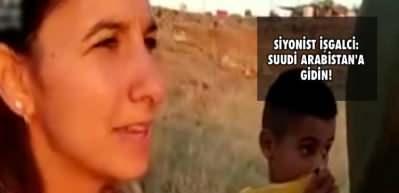 Masaya oturdukları İsraillinin gerçek yüzü! Siyonist yerleşimci: Suudi Arabistan'a gidin