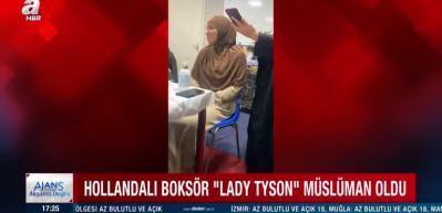 Dünyaca ünlü boksör Müslüman oldu