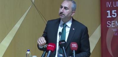 Bakan Gül: O irade egemen olsa Ayasofya'yı ibadete açmak mümkün olmayacaktı!