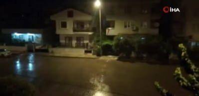 Aydın Didim'de yoğun sağanak yağış etkili oldu