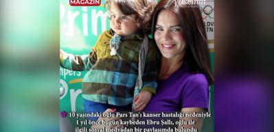 Ebru Şallı'dan duygulandıran paylaşım!