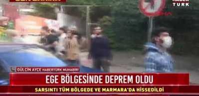 Ege'de çok şiddetli deprem! İstanbul ve Marmara'da da hissedildi