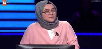 Elif İnce 'Kim Milyoner Olmak İster'e damga vurdu!
