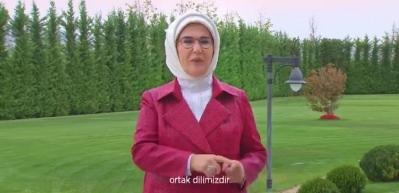 Emine Erdoğan 'Dünya İşaret Dili Gününü' kutladı