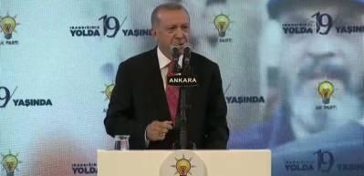 Erdoğan: 'Ankara kriterleri' der ve yolumuza devam ederiz