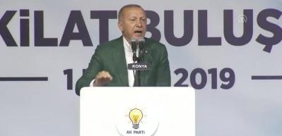 Erdoğan: Fitne ateşinin çıkmasına kesinlikle izin vermeyeceğiz