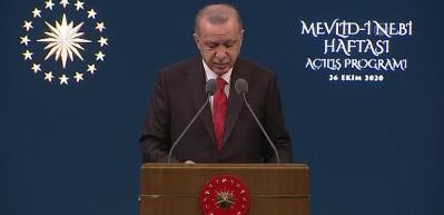 """Cumhurbaşkanı Erdoğan: """"Milletime sesleniyorum, Fransız mallarını asla satın almayın"""""""