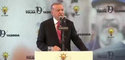 Erdoğan: Oynanan oyunları hep aklımızda tutmalıyız