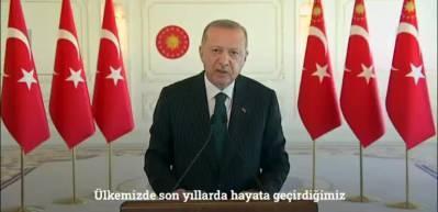 Erdoğan'dan Konya Ovası paylaşımı