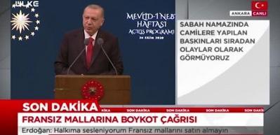 Erdoğan'dan Merkel'e 'cami baskını' tepkisi!