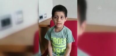 Erdoğan'ın tedavisini üstlendiği küçük Taha'dan sevindiren haber