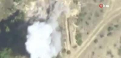 Ermeni topçu birlikleri böyle havaya uçuruldu