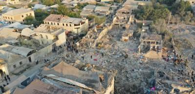 Ermenistan Gence ve Mingeçevir'i vurdu! Vahşetin boyutu gün ağarınca ortaya çıktı