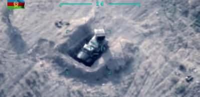 Ermenistan'ın 8 Grad roketatar sistemi imha edildi