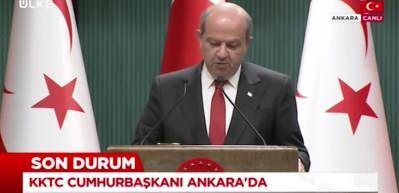 Ersin Tatar: Türkiye'nin önerdiği beşli konferans çözüm için son şans