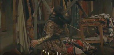 Ertuğrul Bey Dragos'u öldürür