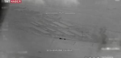 Esed'in kimyasal silahları ürettiği yerler vuruldu
