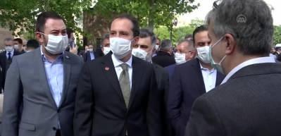 Eski Refah Partisi Genel Başkanı Ahmet Tekdal, son yolculuğuna uğurlandı