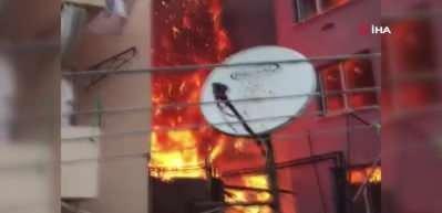 Eyüpsultan'da korkutan yangın