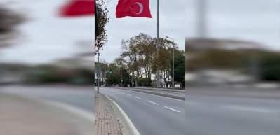 F1 pilotları Atatürk'e saygı sürüşü gerçekleştirdi!