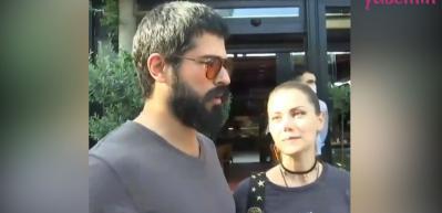 Fahriye Evcen'den eşi Burak Özçivit'e: Onu her hali ile seviyorum
