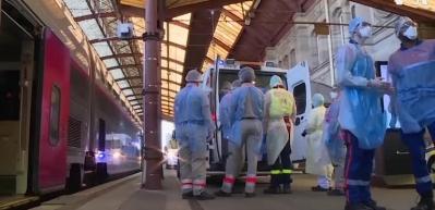 Fransa'da hızlı tren hastaneye dönüştürüldü