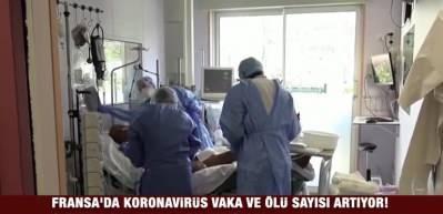 Fransa'da koronavirüs vaka ve ölü sayısı artıyor! Can kaybı 24 bin 376'ya yükseldi