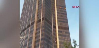 Fransa'da youtuber 58 katlı gökdelene ekipmansız tırmandı
