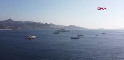 Füzesavarlı yat Türkiye'ye geldi! Limanlara bile sığmadı