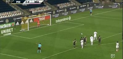 Gonzalo Higuain'in MLS'teki ilk maçında olay çıktı!