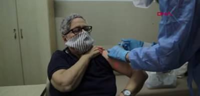 11 aydır dış dünyaya kapanan Darülaceze'de koronavirüs aşı çalışmaları tamamlandı