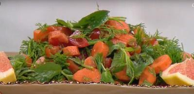 Greyfurt salatası nasıl yapılır?