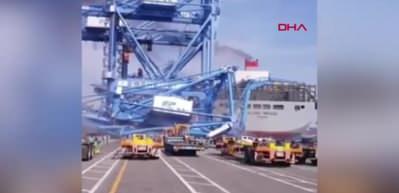 Güney Kore'de gemi kazası 1 yaralı