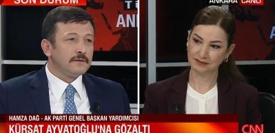 Hamza Dağ'dan Kürşat Ayvatoğlu açıklaması: Daha çok dikkat edeceğiz
