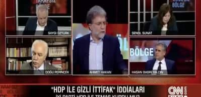Hasan Basri Yalçın'ın sözüyle stüdyo sessizliğe büründü