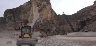 Hasankeyf'teki tarihi yapıları güçlendirme çalışmaları sürüyor