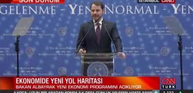 Hazine ve Maliye Bakanı Albayrak Yeni Ekonomi Programı'nı açıkladı