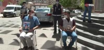 HDP önündeki ailelerin evlat nöbeti 271'inci gününde