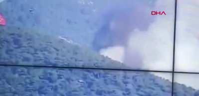 Heybeliada'da yangın! Karadan ve havadan müdahale ediliyor