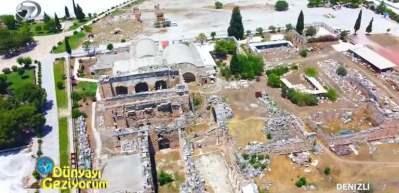 Hierapolis Müzesi binlerce yıllık tarihe ışık tutuyor