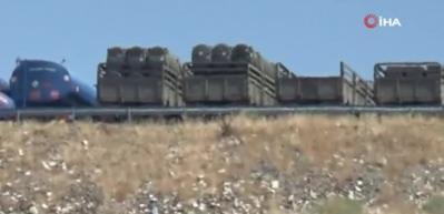 Hisar-O Suriye sınırına konuşlandırıldı