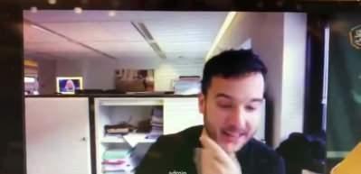 Hollandalı gazeteci AB Savunma Bakanları Zoom toplantısına sızdı!
