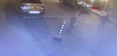 Husumetli olduğu kişi ve kardeşine kurşun yağdırdı! O anlar kamerada