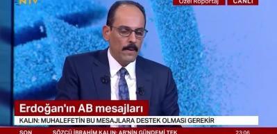 İbrahim Kalın: Karabağ'da koridorların korunması son derece önemli