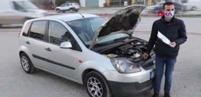 İkinci el araç aldı, hayatının şokunu yaşadı! Aracın yarısı...