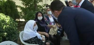 İmamoğlu, HDP Eş Başkanı Sancar'ın kardeşinin cenaze namazına katıldı