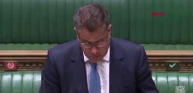 İngiltere parlamentosunda korona paniği