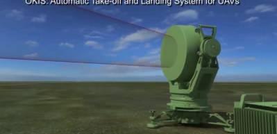 İnsansız Hava Aracı'nın (İHA) iniş ve kalkışında kullanılan üç boyutlu tek darbe transponder takip radarı