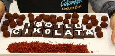 İsotlu çikolata