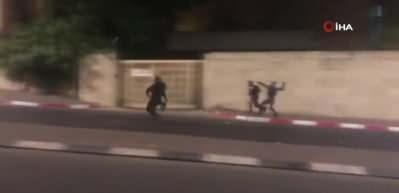 İsrail güçleri, Kudüs'te Filistinlilere saldırdı